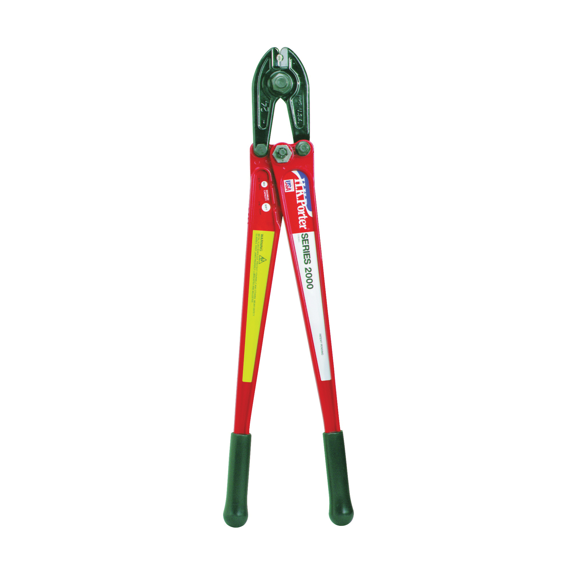 Picture of Crescent HKPorter 0190MCD/0190AC Bolt Cutter, 3/8 in Cutting Capacity, Steel Jaw, 24 in OAL