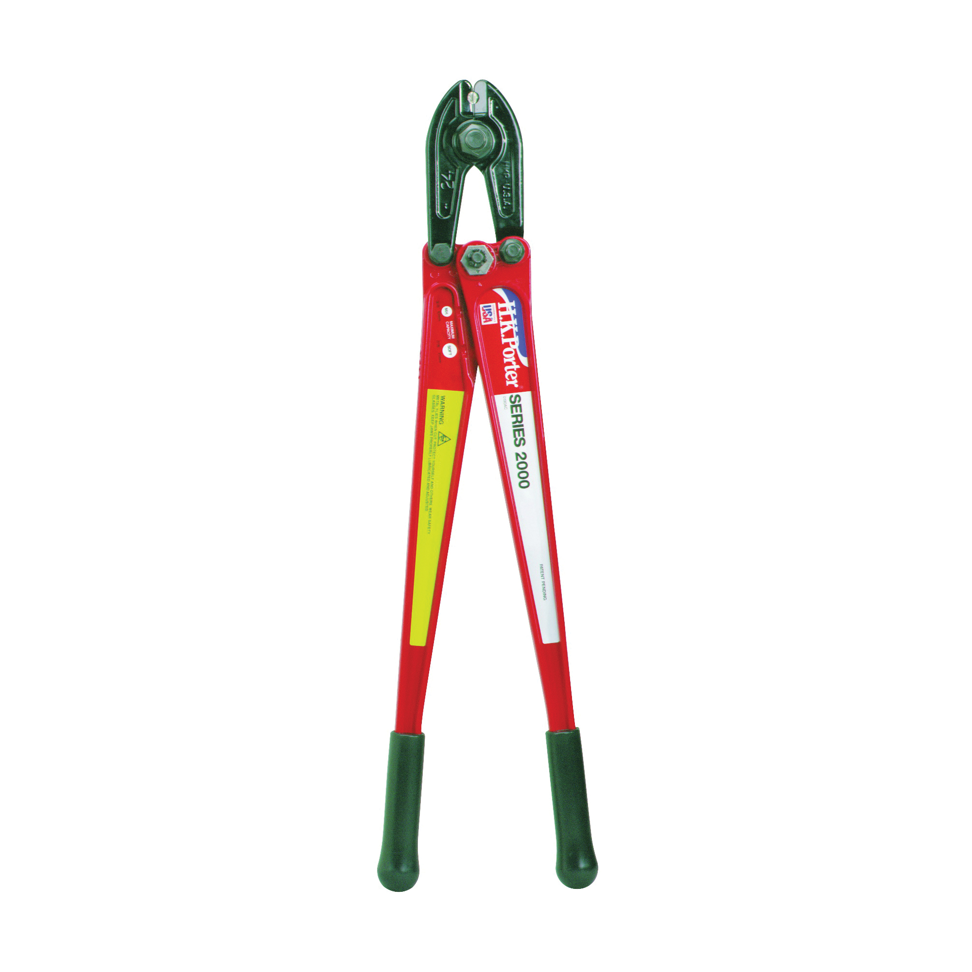 Picture of Crescent HKPorter 0090MCD/0090AC Bolt Cutter, 5/16 in Cutting Capacity, Steel Jaw, 18 in OAL
