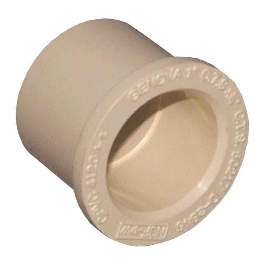 Picture of GENOVA 500 Series 50217 Pipe Bushing, 1 x 3/4 in, Spigot x Slip, 100 to 400 psi Pressure