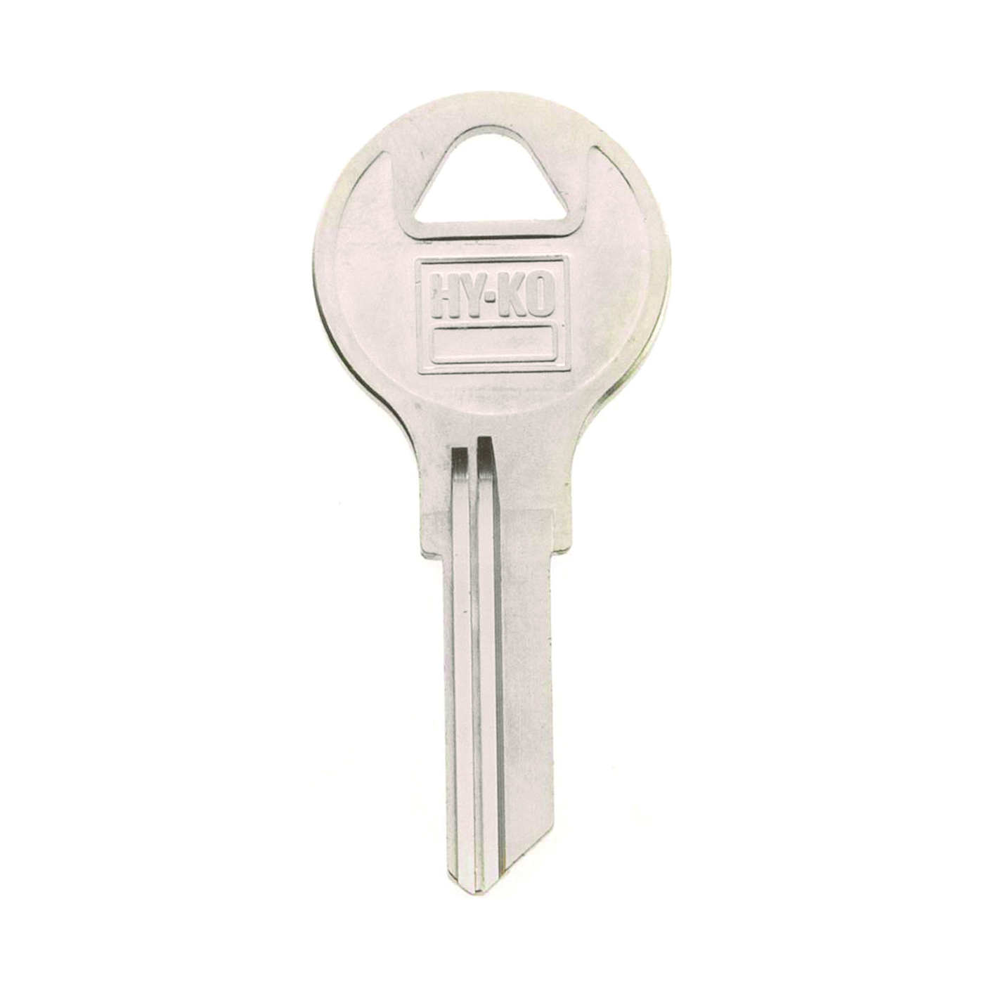Picture of HY-KO 11010AP1 Key Blank, Brass, Nickel, For: Chicago Cabinet, House Locks and Padlocks
