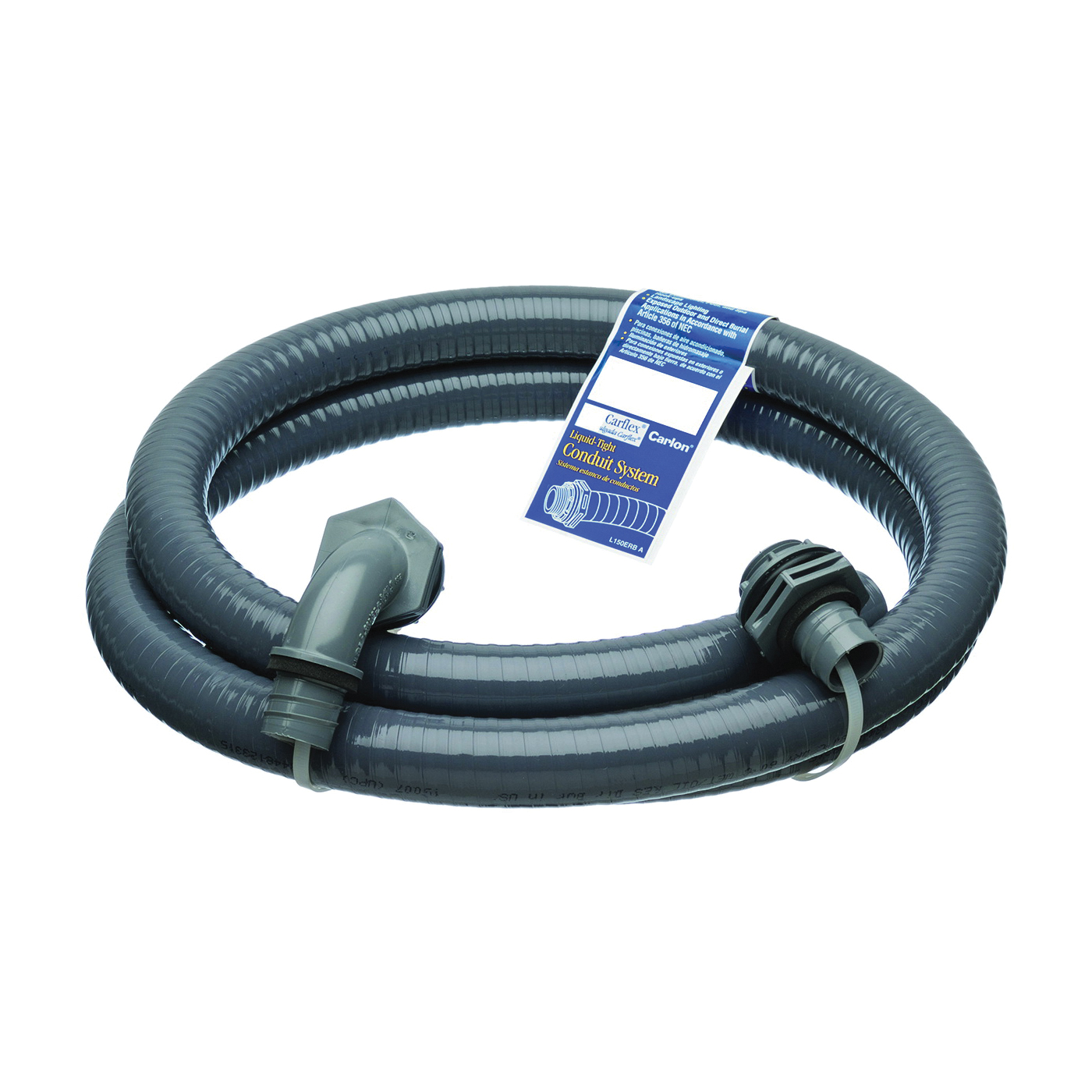 Picture of Carlon 150DRB Electrical Conduit, 6 ft L, 1/2 in Trade, PVC