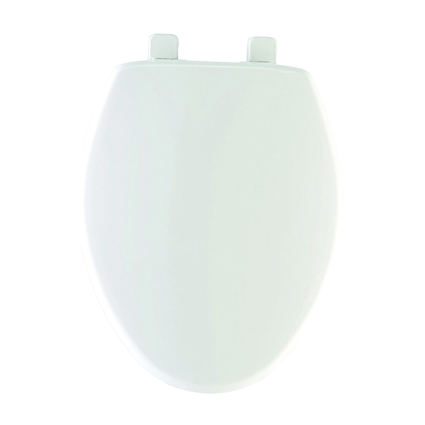Picture of Mayfair 180SLOW000 Toilet Seat, Elongated, Plastic, White, Hex-Tite Hinge