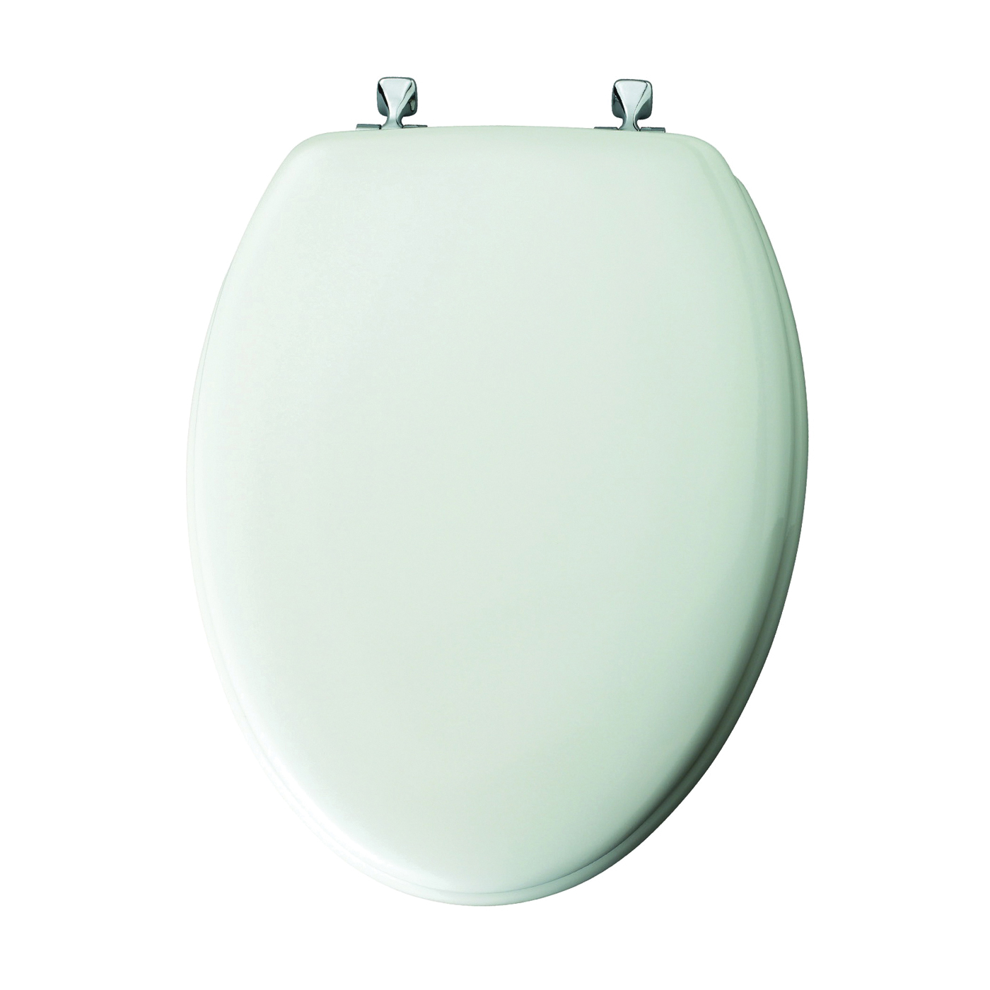 Picture of Mayfair 144CP-000 Toilet Seat, Elongated, Molded Wood, White