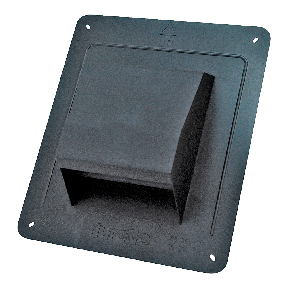 Picture of Air King RCB810 Roof Cap Kit, Plastic, For: 3 to 4 in Round Ducts
