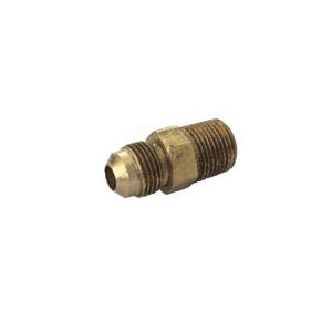 Picture of BrassCraft PSSL-14 Adapter, 3/8 in, Flare x MIP, Brass