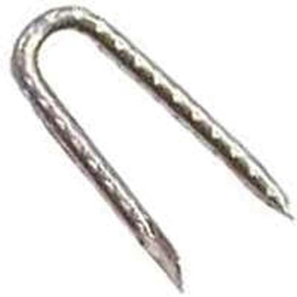 Picture of ProFIT 0051035 Poultry Net Staple, 3/16 in W Crown, 13 Gauge, Galvanized Steel