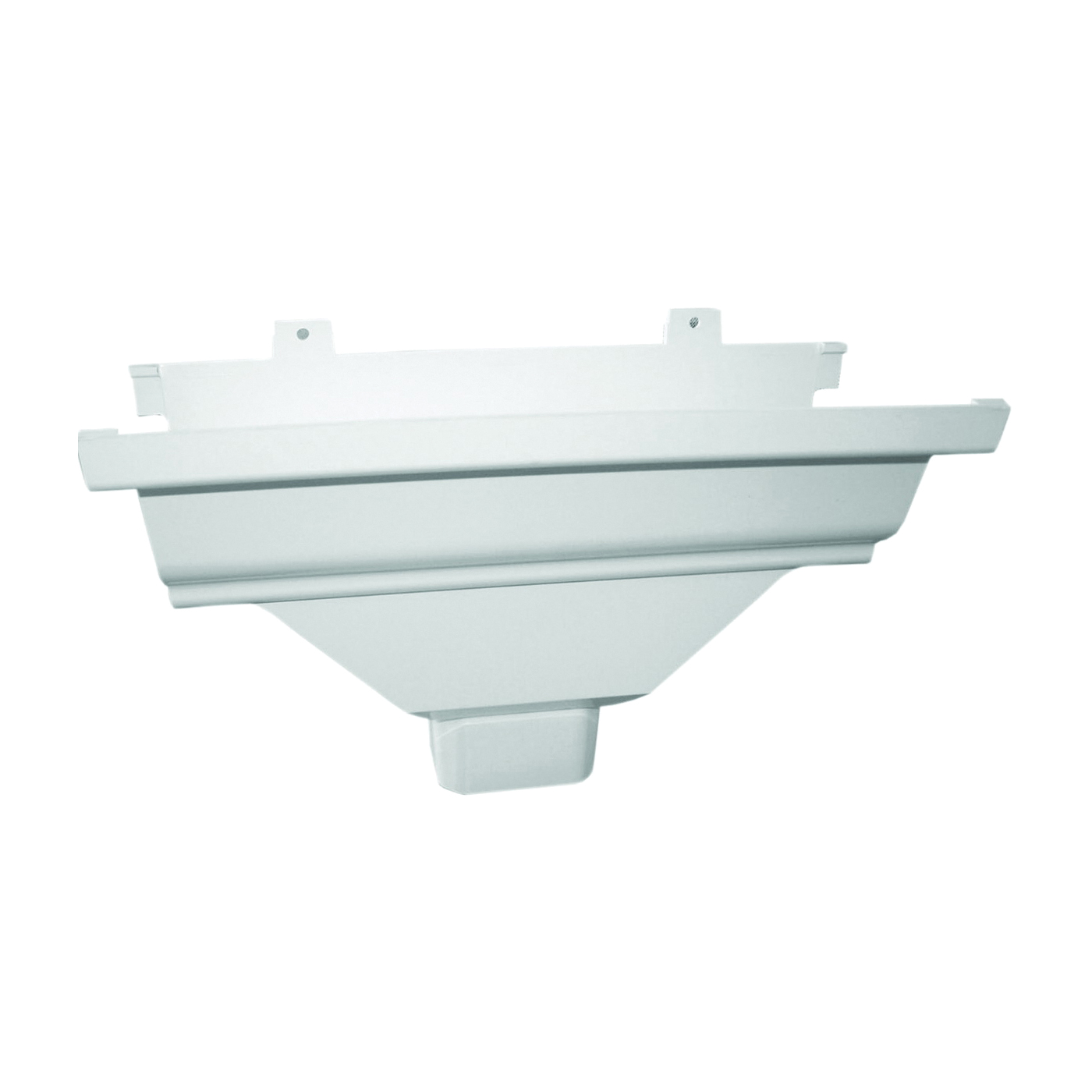 Picture of GENOVA AW104A Gutter Drop Outlet, Vinyl, White
