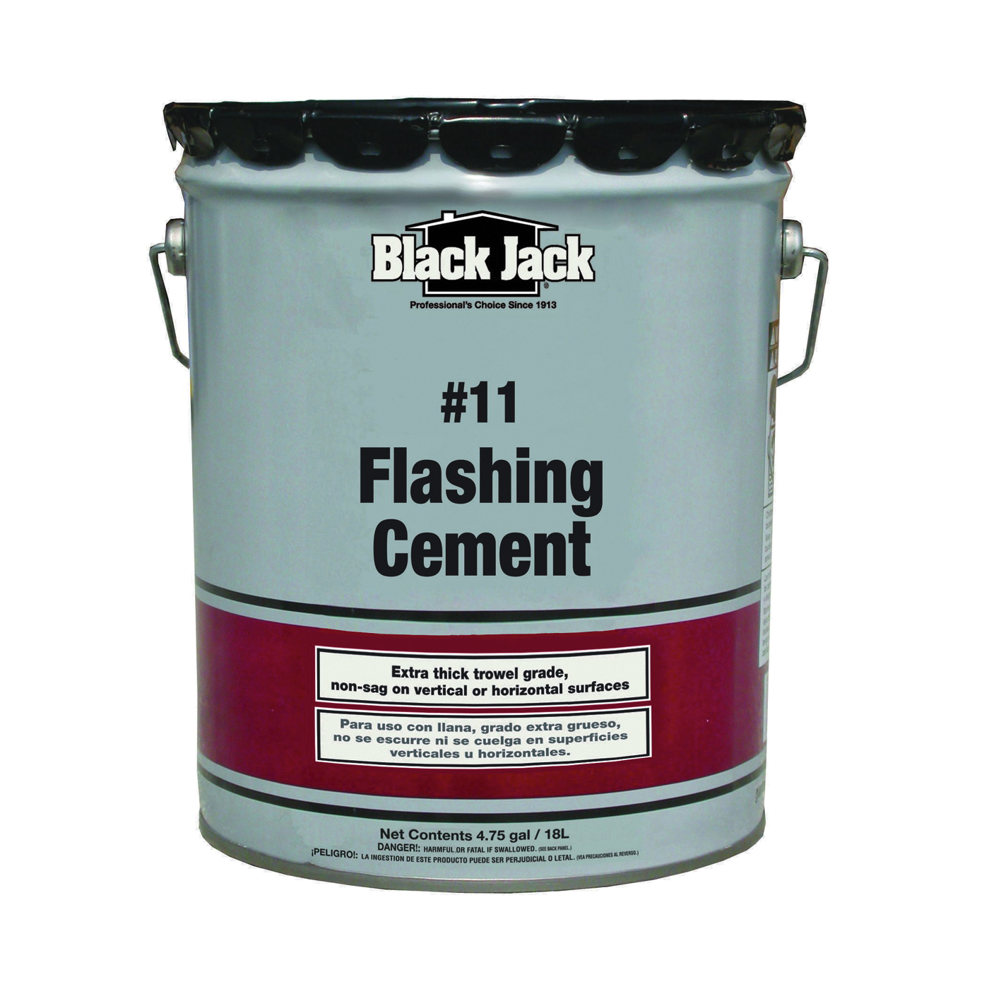 Picture of Gardner 6237-9-30 Flashing Cement, Black, 5 gal Package, Pail