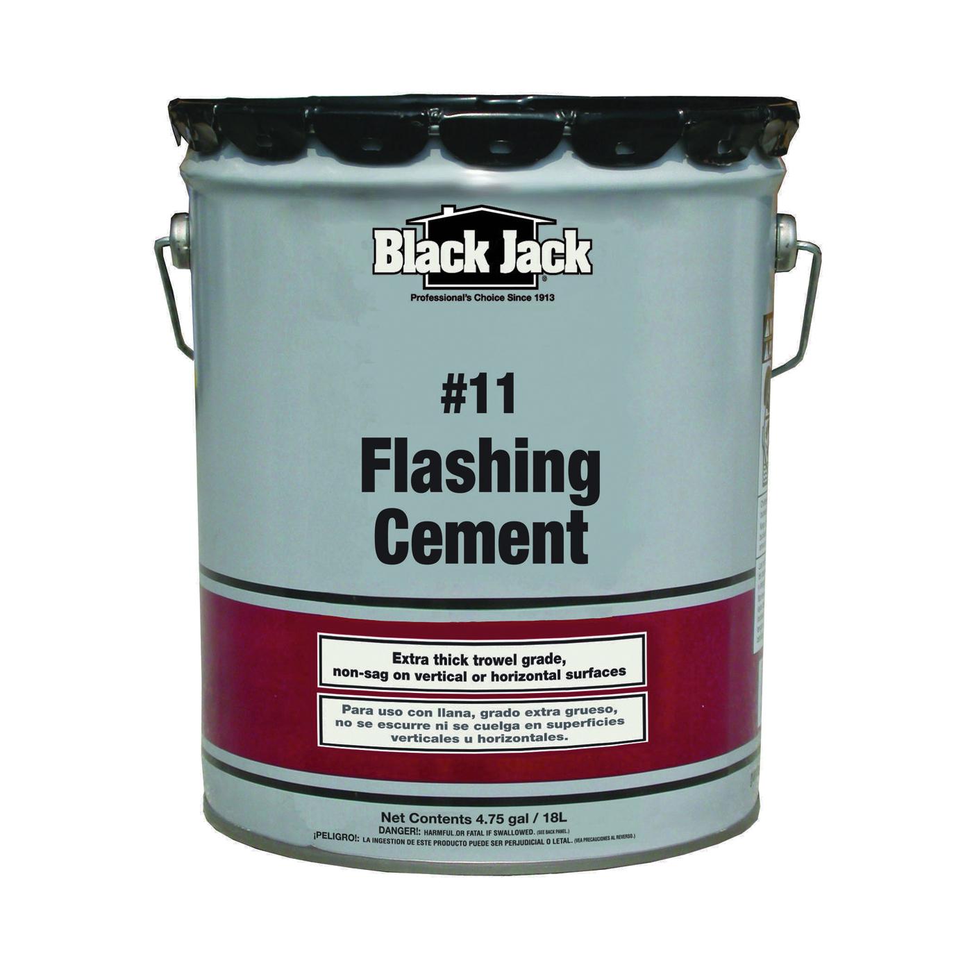Picture of Gardner 6235-9-34 Flashing Cement, Black, 1 gal Package, Pail