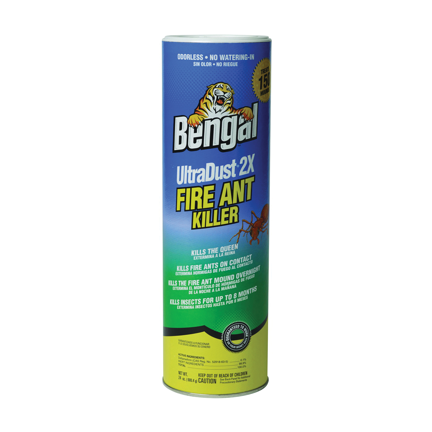 Picture of Bengal 93625 Fire Ant Killer, Powder, 24 oz Package, Canister