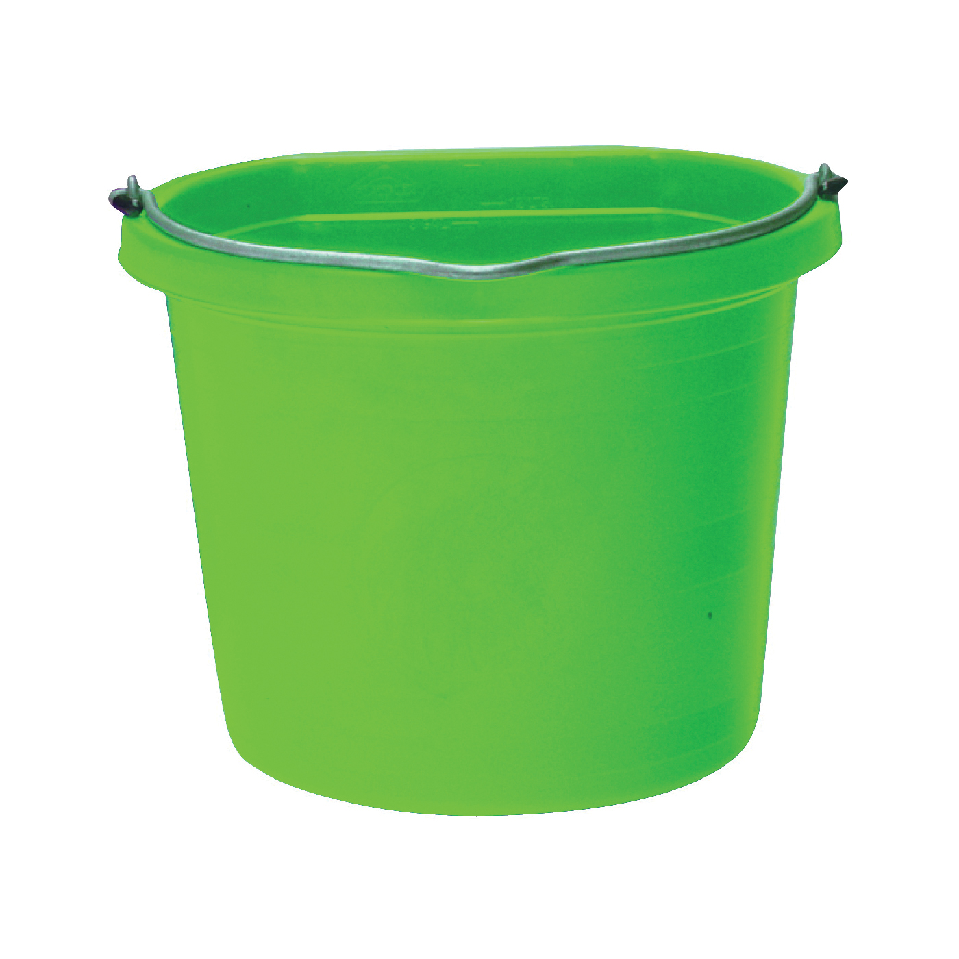 Picture of FORTEX-FORTIFLEX 1302043 Bucket, 20 qt Volume, 2-Compartment, Polyethylene Resin, Green