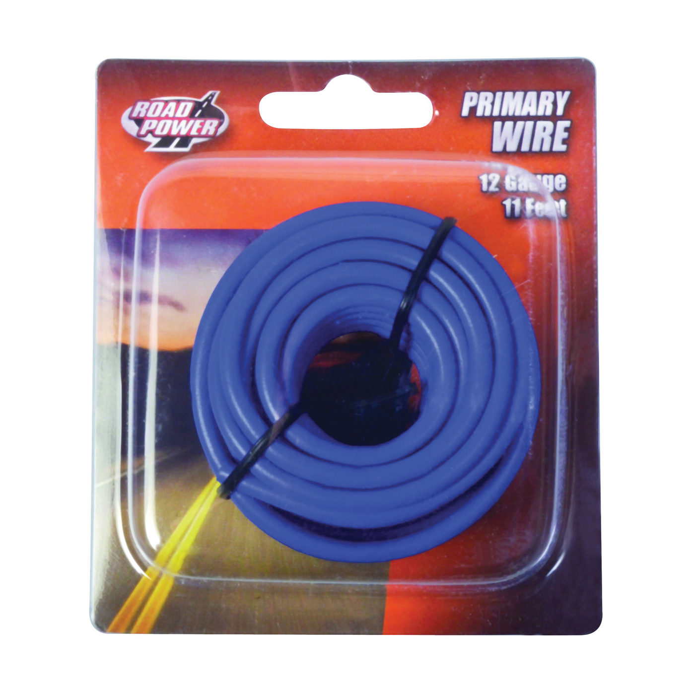 Picture of CCI Road Power 55671633/12-1-12 Electrical Wire, 12 AWG Wire, 25 VAC, 60 VDC, Copper Conductor, Blue Sheath
