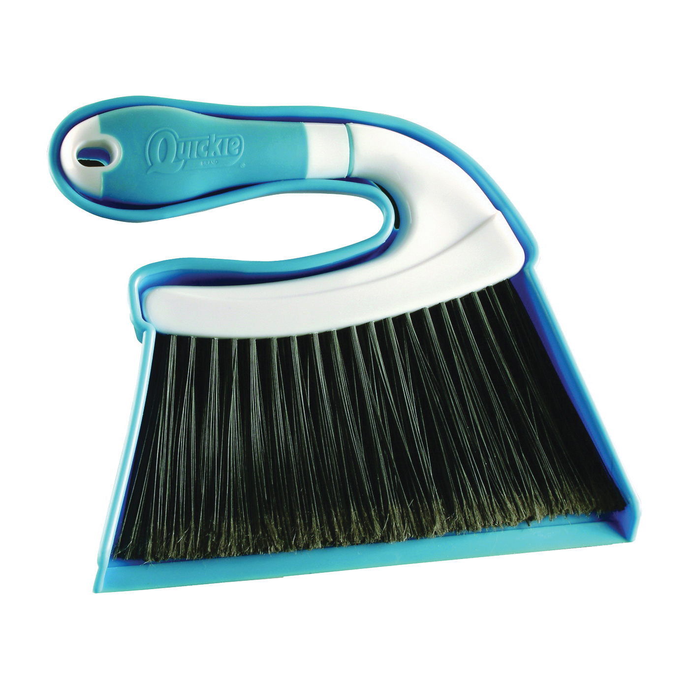 Picture of Quickie 446-3/48 Mini Sweep and Dustpan, 8 in L, 7 in W, Plastic