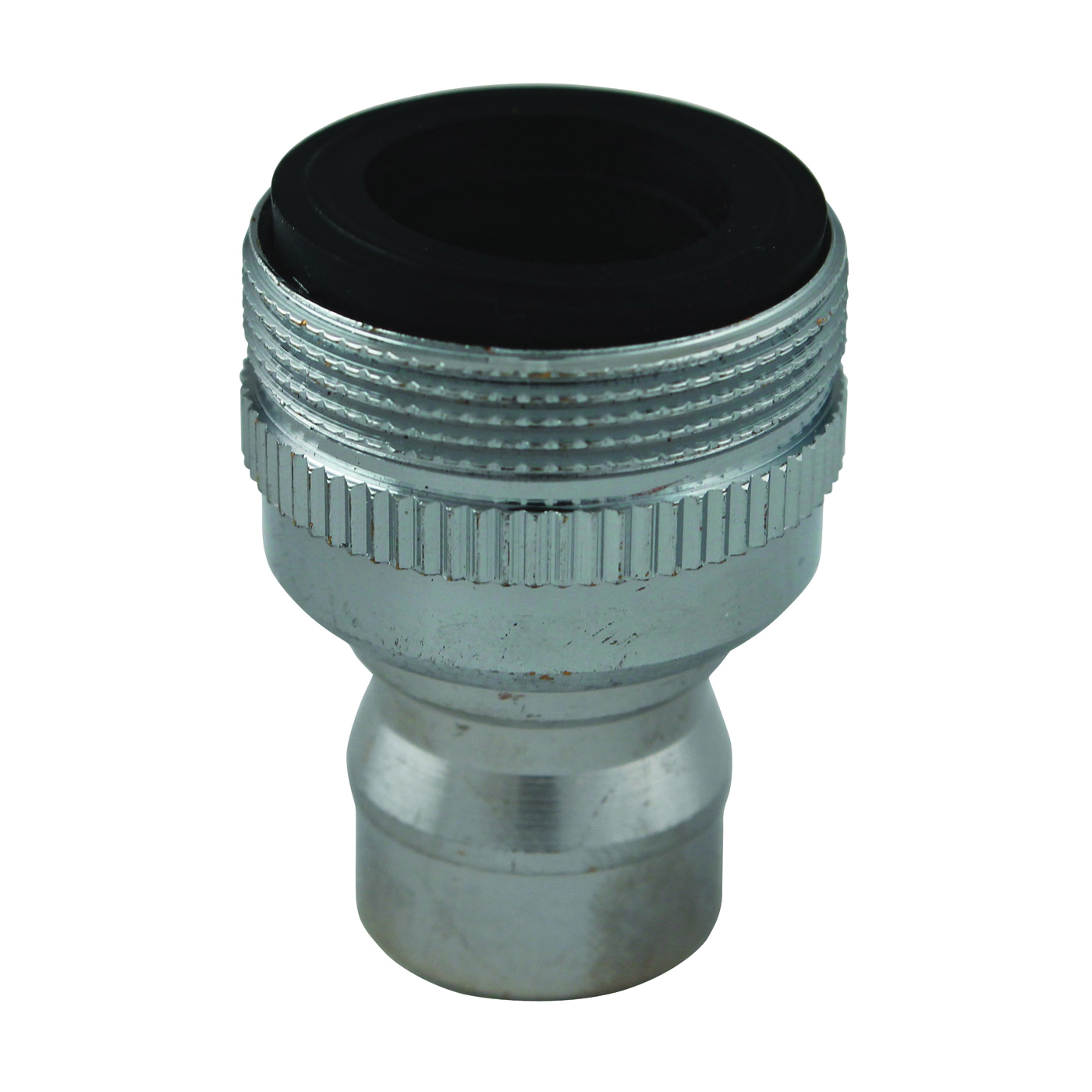 Picture of Plumb Pak PP800-6 Faucet Aerator Adapter, 55/64 x 15/16-27 in, Threaded, Chrome
