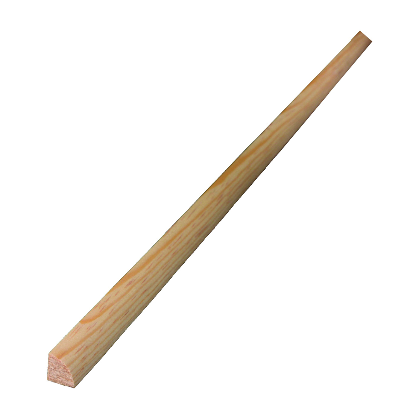 Picture of ALEXANDRIA Moulding 00100-20096C1 Quarter-Round Molding, 96 in L, 1/2 in W, Pine