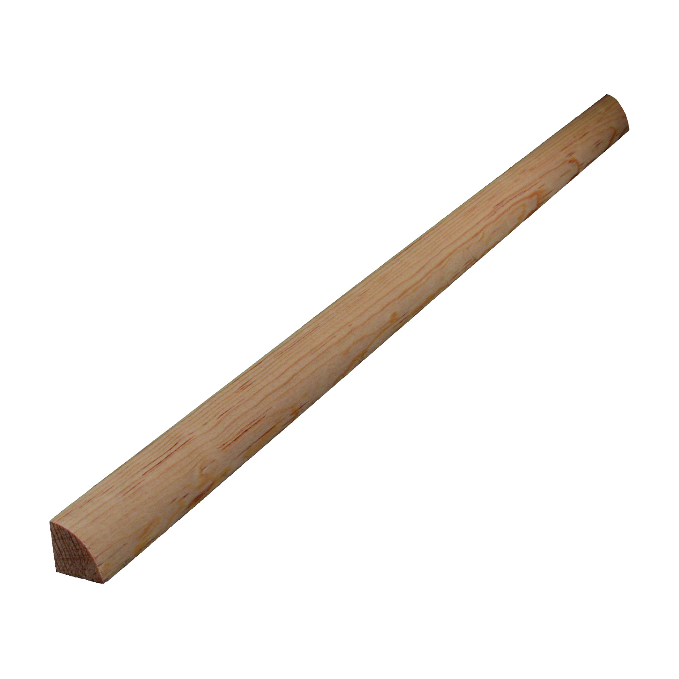 Picture of ALEXANDRIA Moulding 0W105-20096C1 Quarter-Round Molding, 96 in L, 3/4 in W, Pine