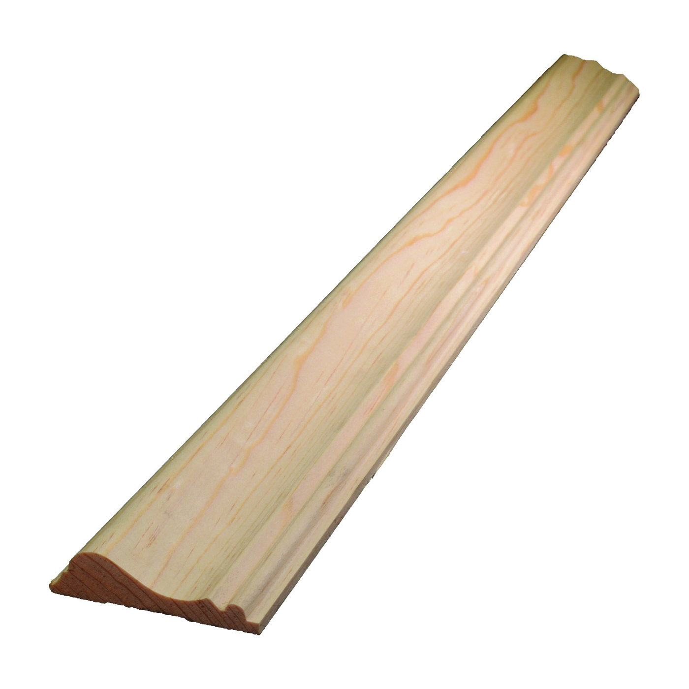 Picture of ALEXANDRIA Moulding 0W390-20096C1 Chair Rail Trim, 96 in L, 2-5/8 in W, 11/16 in Thick, Pine