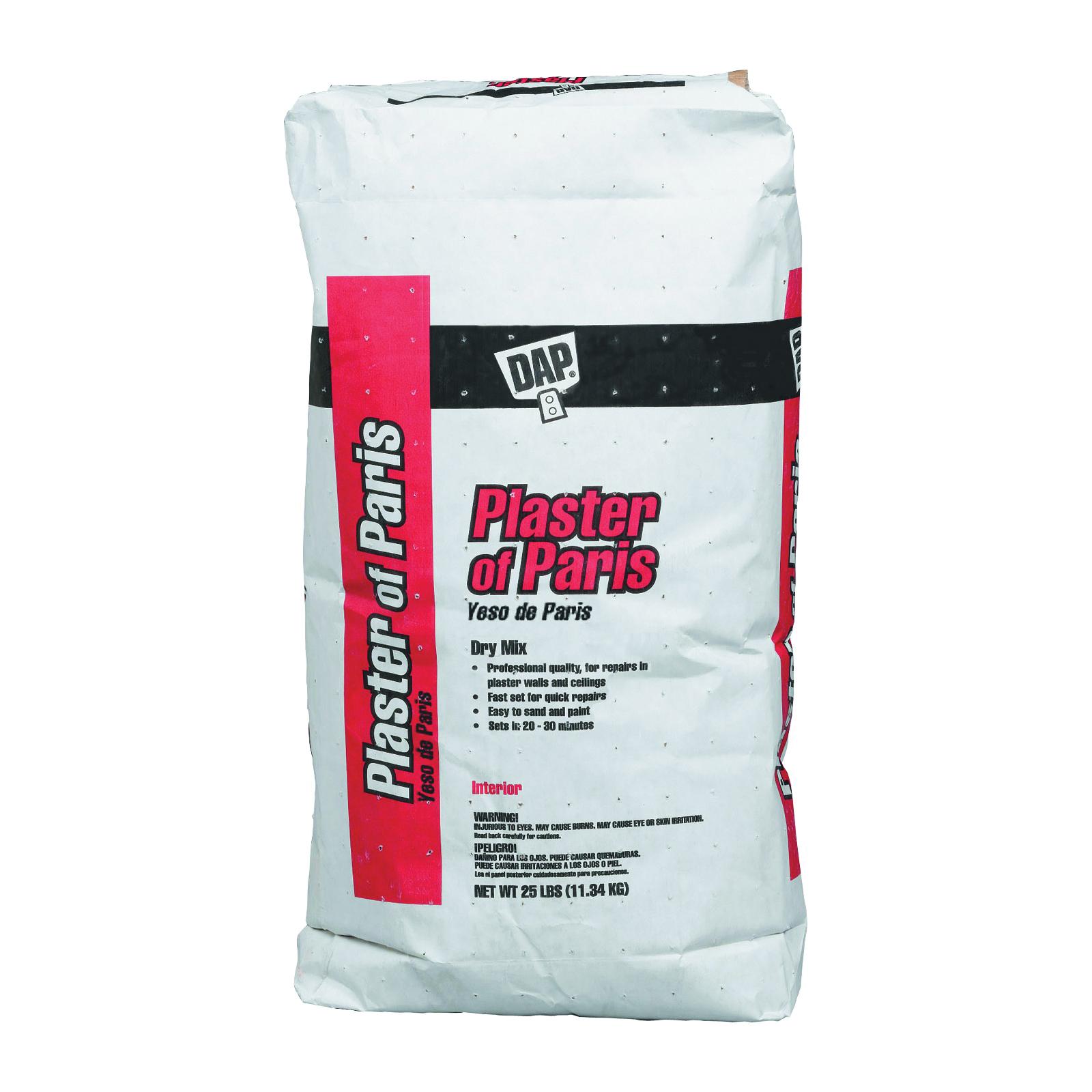 Picture of DAP 10312 Plaster of Paris, Powder, White, 25 lb Package, Bag