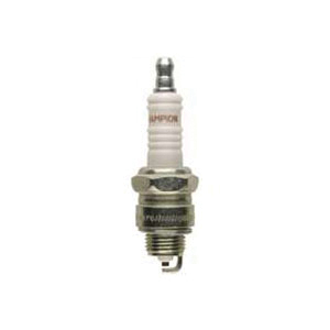 Picture of Champion RJ12YC Spark Plug, 0.033 to 0.038 in Fill Gap, 0.551 in Thread, 0.813 in Hex, Copper, For: 4-Cycle Engines