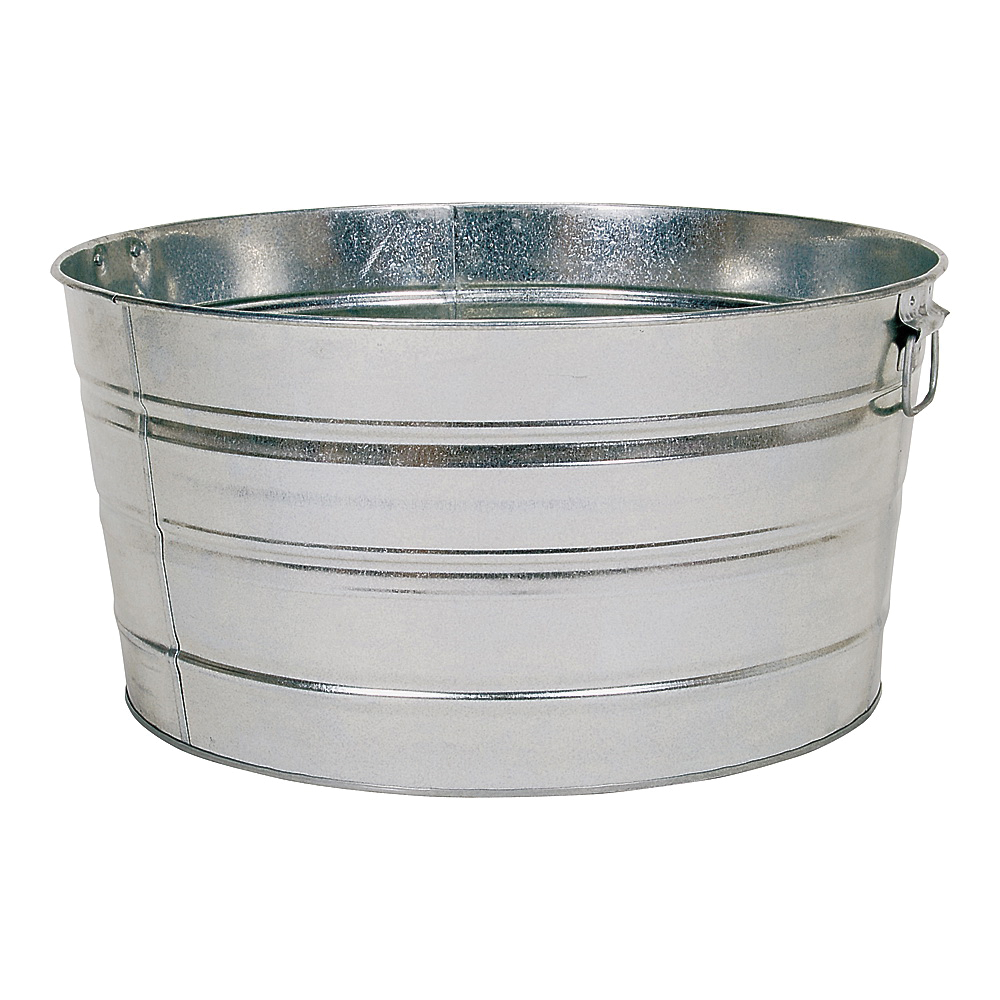 Picture of Behrens 2S Wash Tub, 15 gal Capacity, Galvanized Steel
