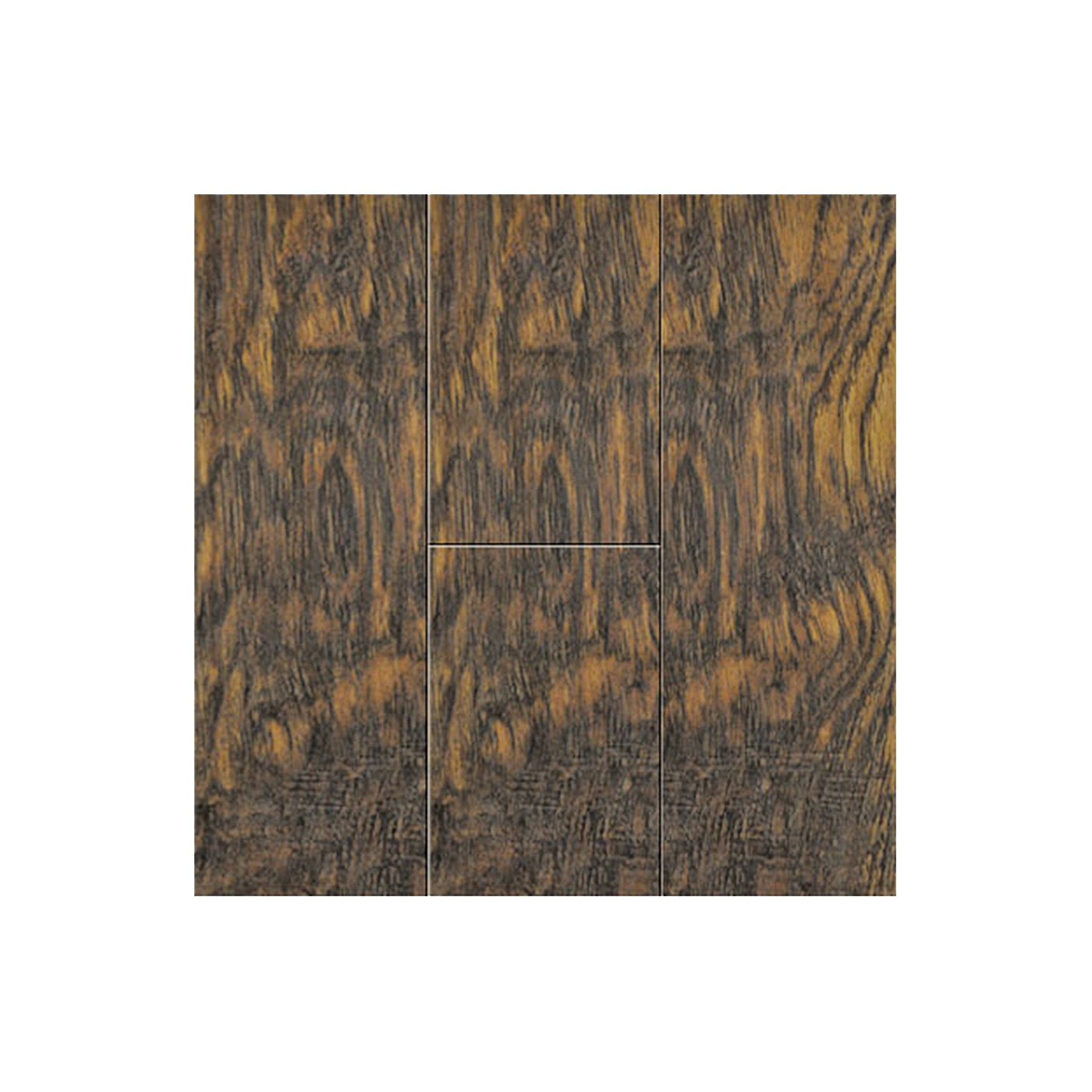 Picture of Courey Unifloor Sheffield 21231247 Laminate Flooring, Plank Profile, Fiberboard, Brazilian Hickory, 48 in L
