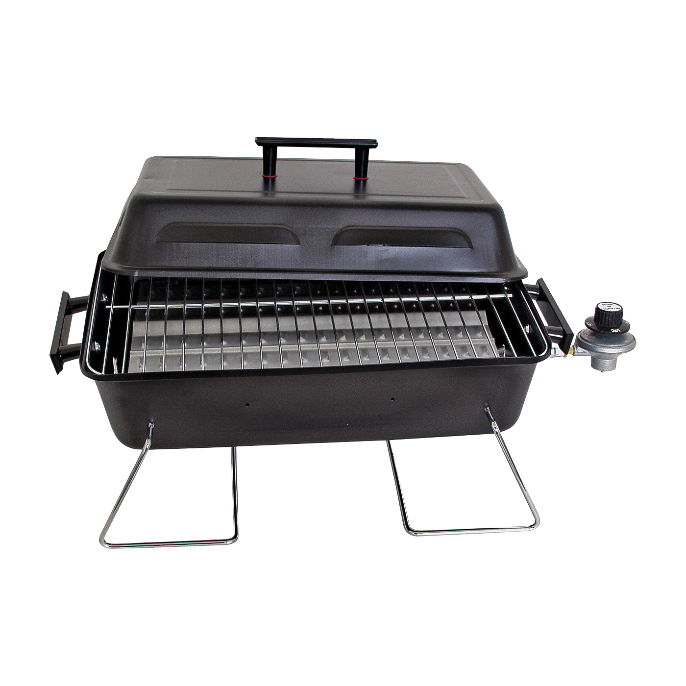 Picture of Char-Broil 465133010 Gas Grill, 11000 Btu BTU, 1 -Burner, Steel Body, Black