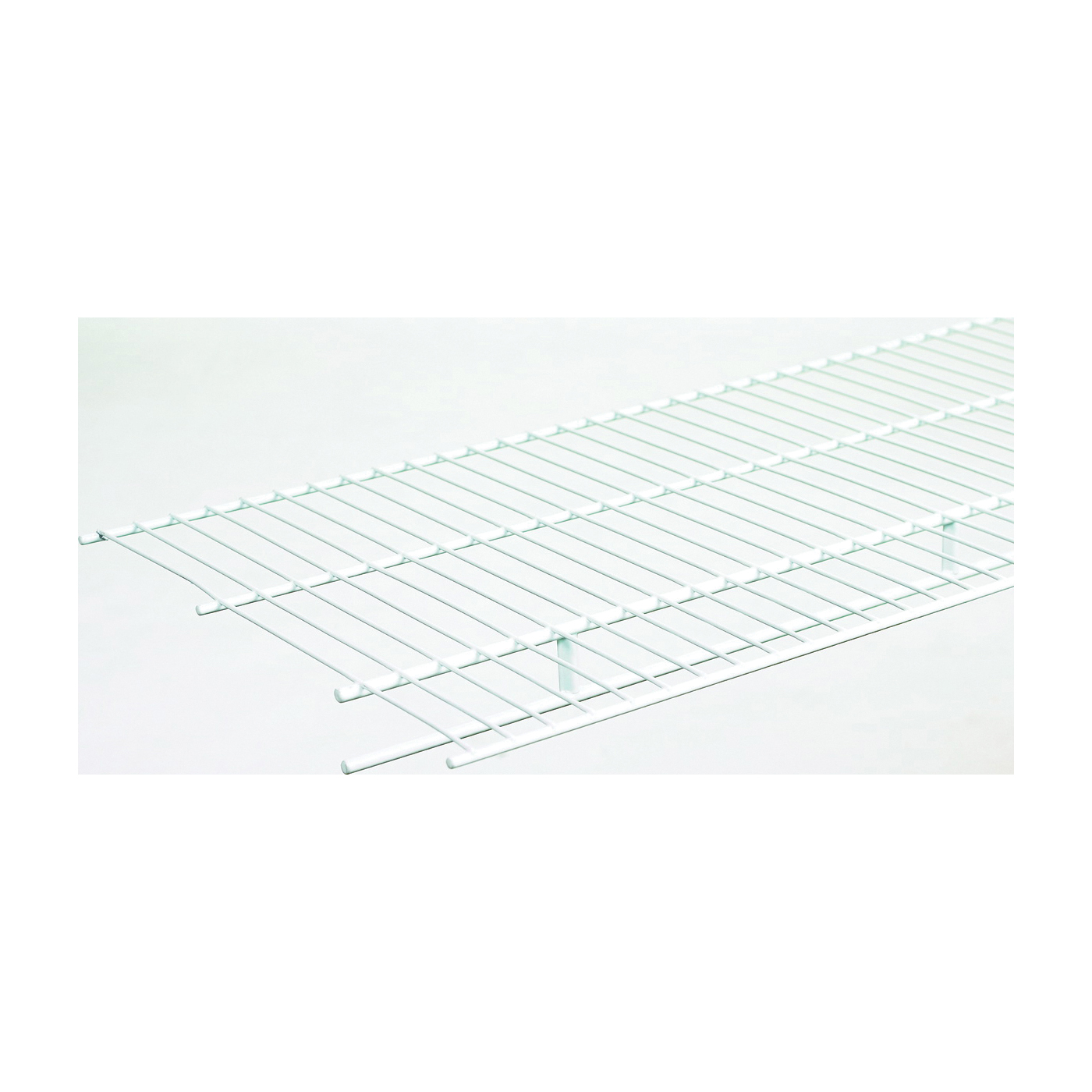 Picture of ClosetMaid 37300 Wire Shelf, 1-Level, 12 in L, 144 in W, Steel, White