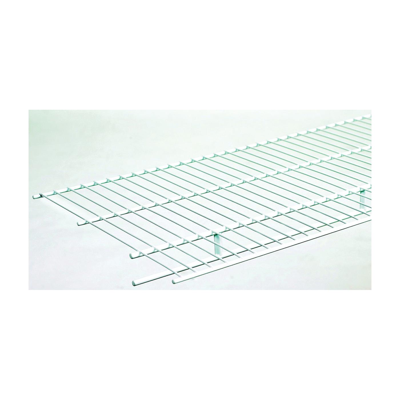 Picture of ClosetMaid 37305 Wire Shelf, 100 lb, 1-Level, 16 in L, 144 in W, Steel, White