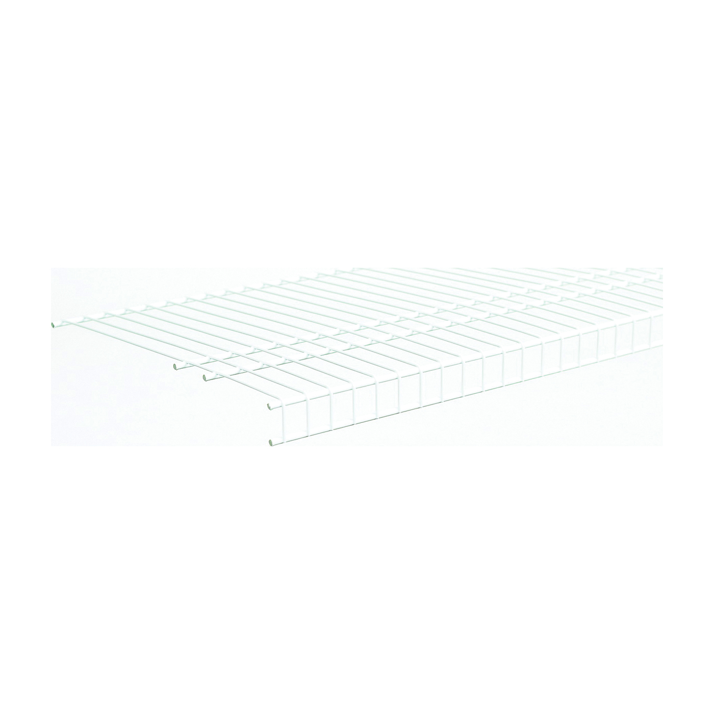 Picture of ClosetMaid SuperSlide 4737 Wire Shelf, 100 lb, 1-Level, 16 in L, 144 in W, Steel, White
