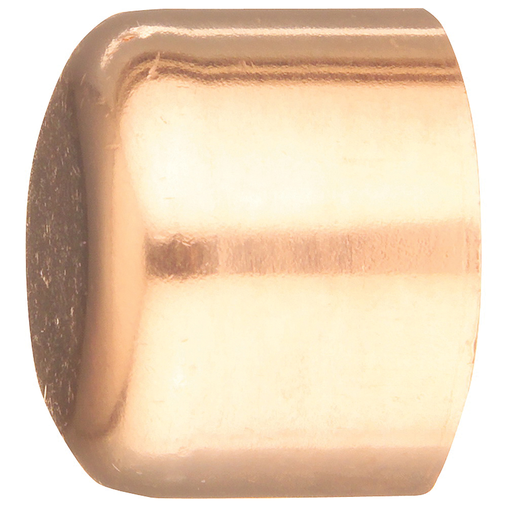 Picture of EPC 30626CP Tube Cap, 1/2 in, Sweat, Wrot Copper