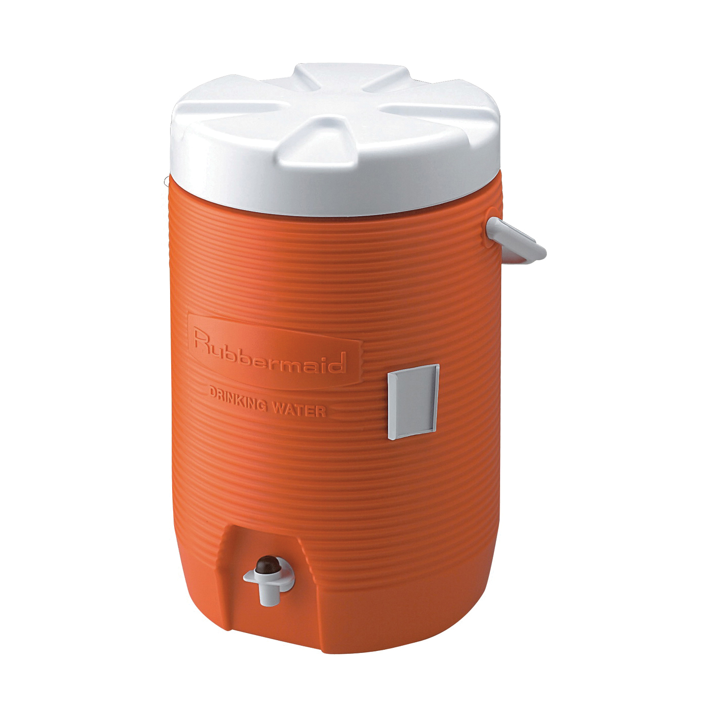 Picture of Rubbermaid 1683-01-11 Water Cooler, 3 gal Cooler, Polyethylene, Orange