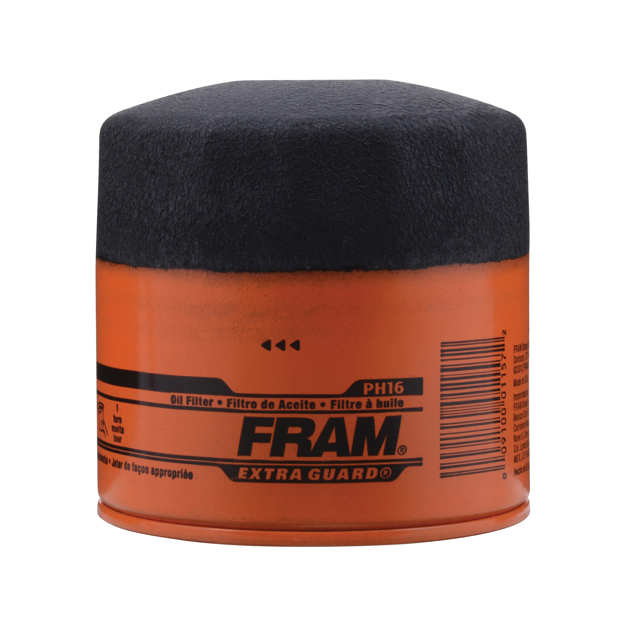 Picture of FRAM PH16 Full-Flow Lube Oil Filter, 3/4- 16 Connection, Threaded, Cellulose, Synthetic Glass Filter Media