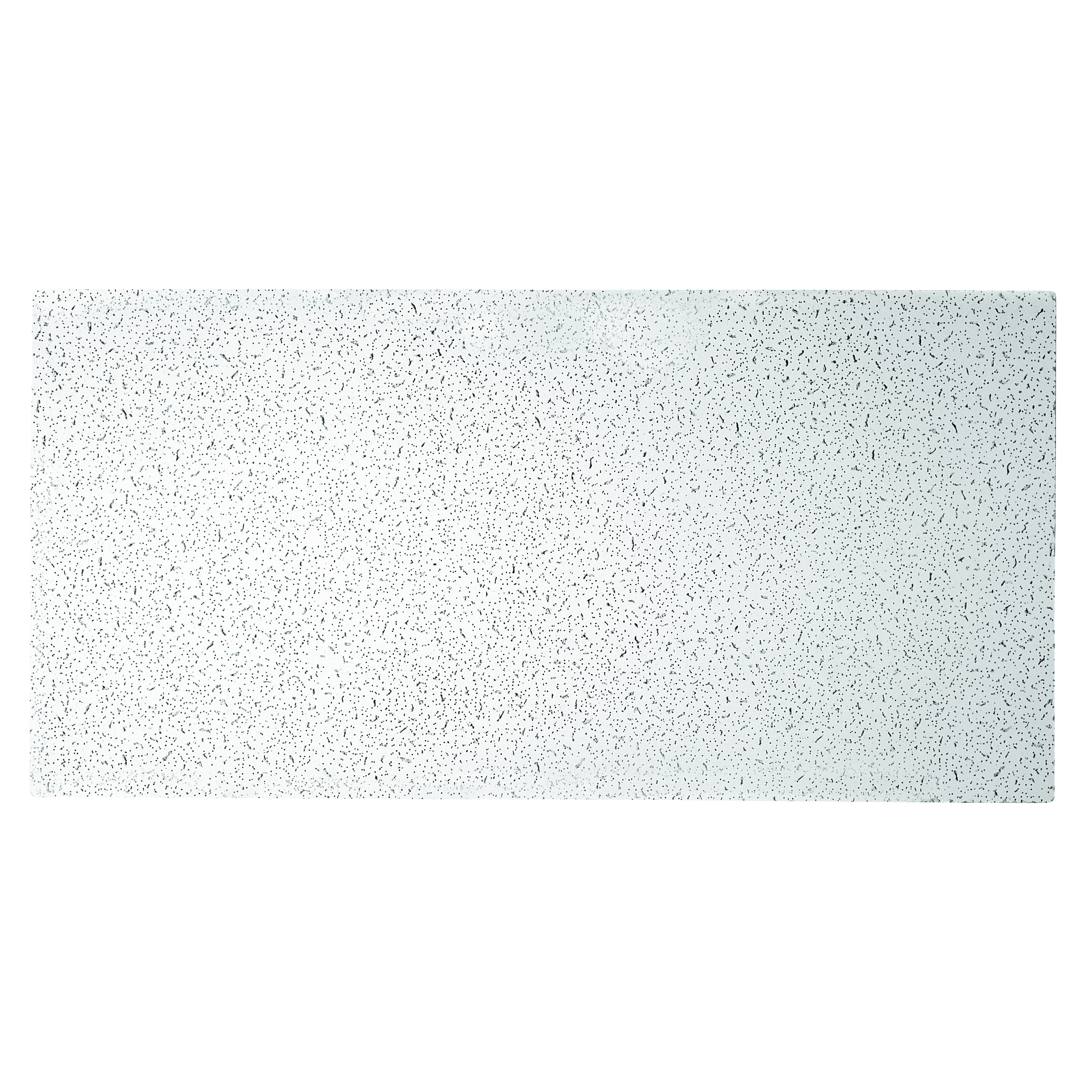 Picture of USG PLATEAU 725 Ceiling Panel, 4 ft L, 2 ft W, 9/16 in Thick, Mineral Fiber, White