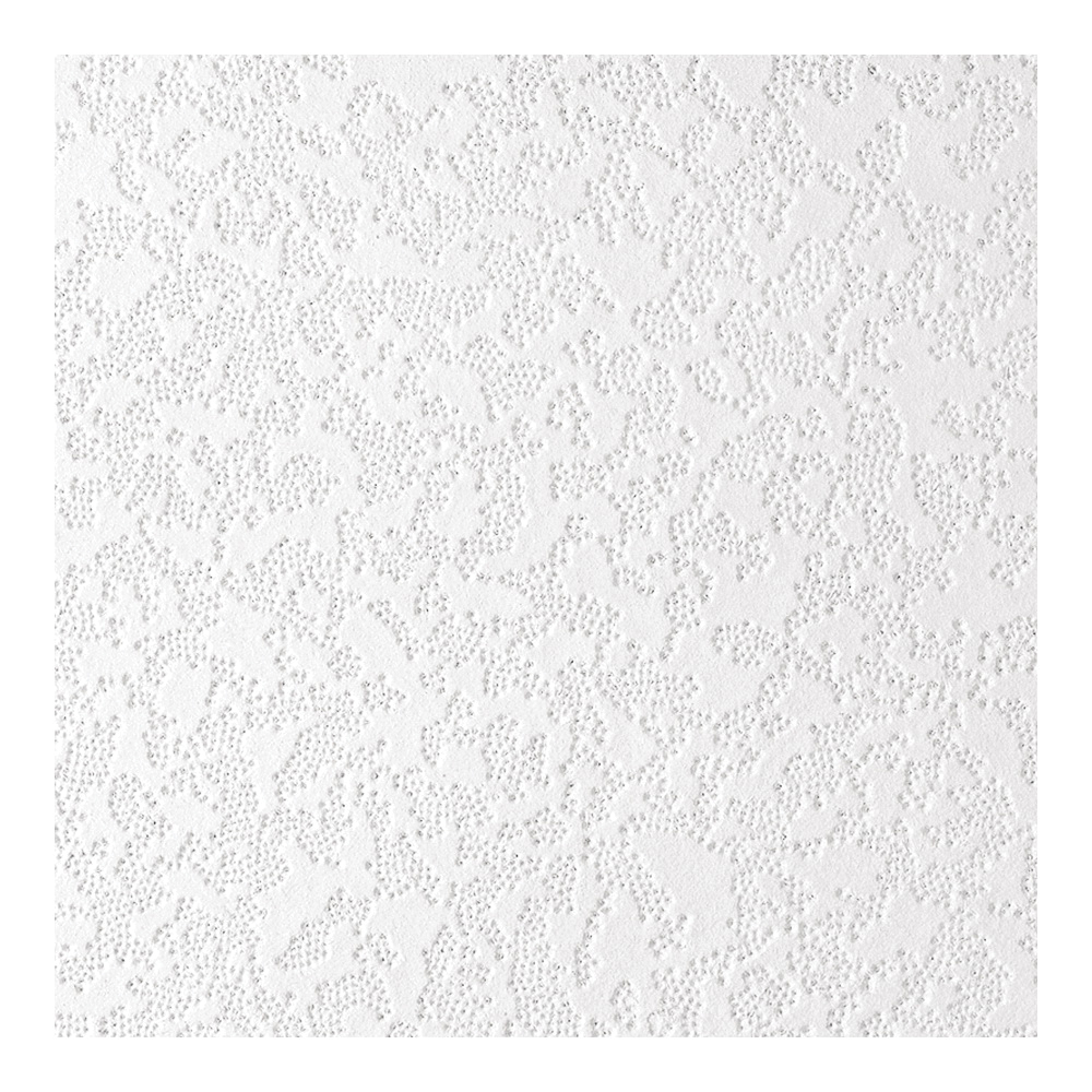 Picture of USG 4260 Ceiling Tile, 12 in L, 12 in W, Lace Pattern, Staple Flange Edge, Wood