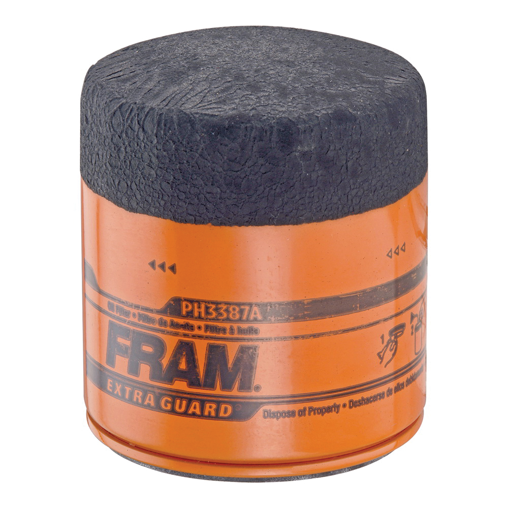 Picture of FRAM PH3387A Full-Flow Lube Oil Filter, 18 x 1.5 mm Connection, Threaded, Cellulose, Synthetic Glass Filter Media