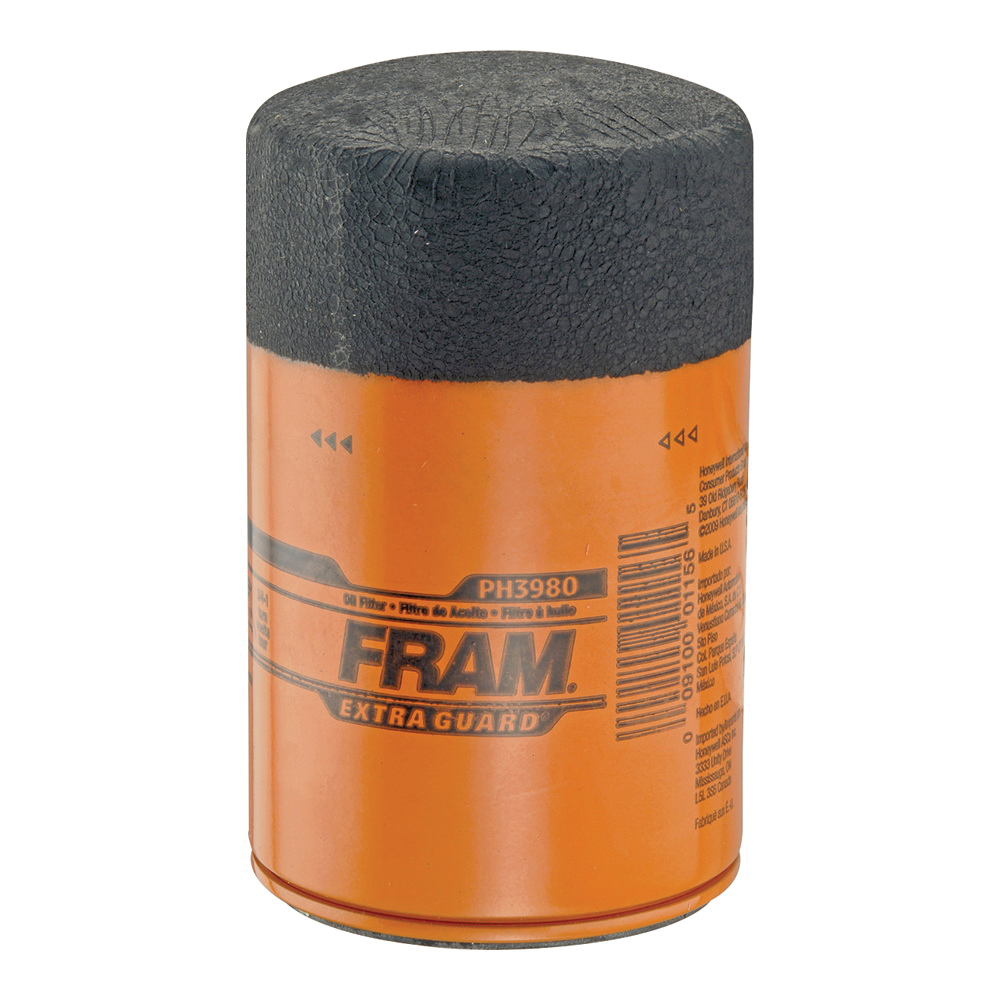 Picture of FRAM PH3980 Full-Flow Lube Oil Filter, 18 x 1.5 mm Connection, Threaded, Cellulose, Synthetic Glass Filter Media