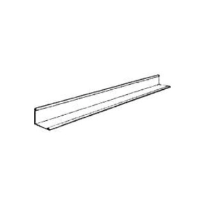 Picture of USG DONN SDX/SDXL SM7 Wall Molding, Galvanized Steel, Flat White