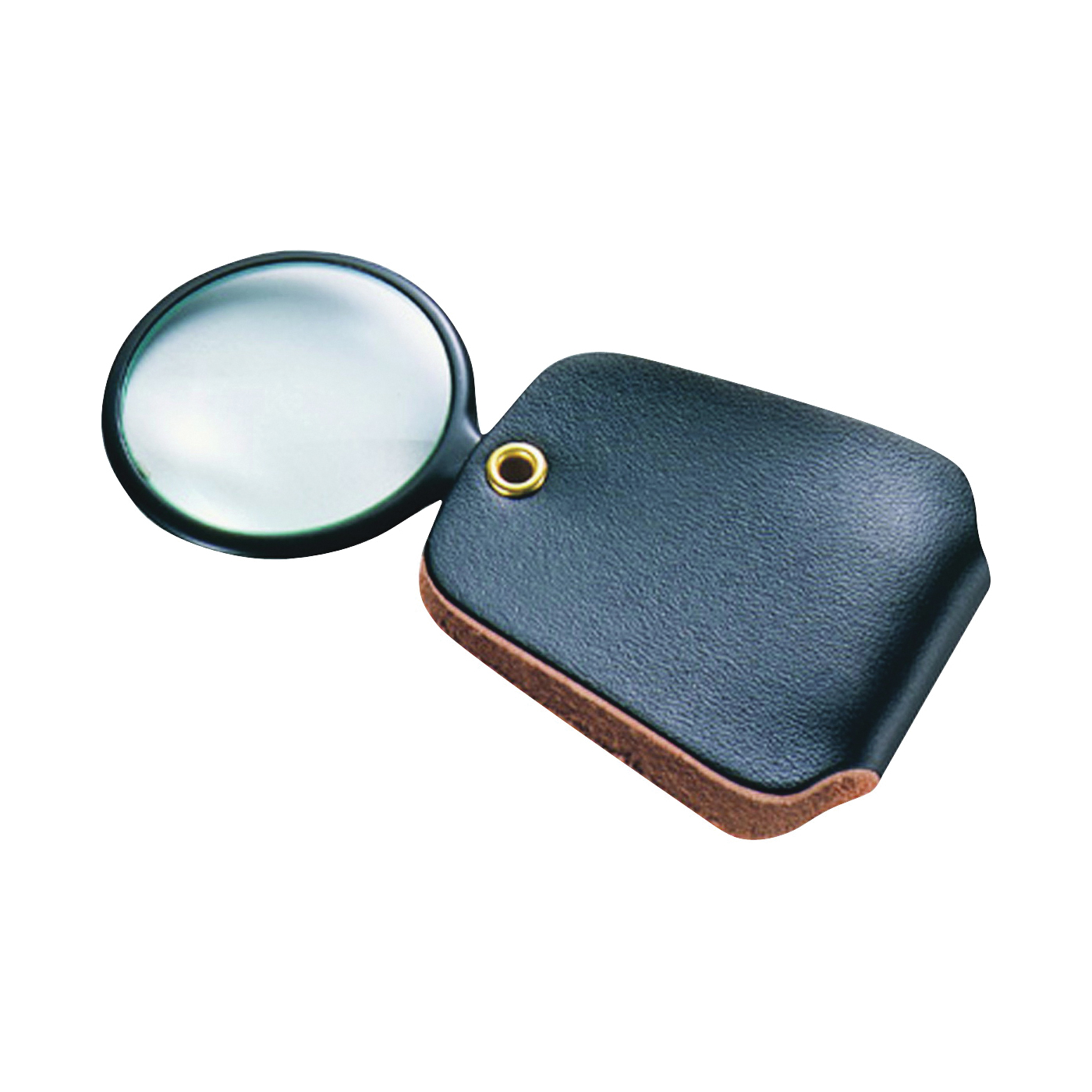 Picture of GENERAL 532 Pocket Reading Magnifier, 1 in Mirror, 2.5X Magnification, 4 in L Focal, Glass Mirror