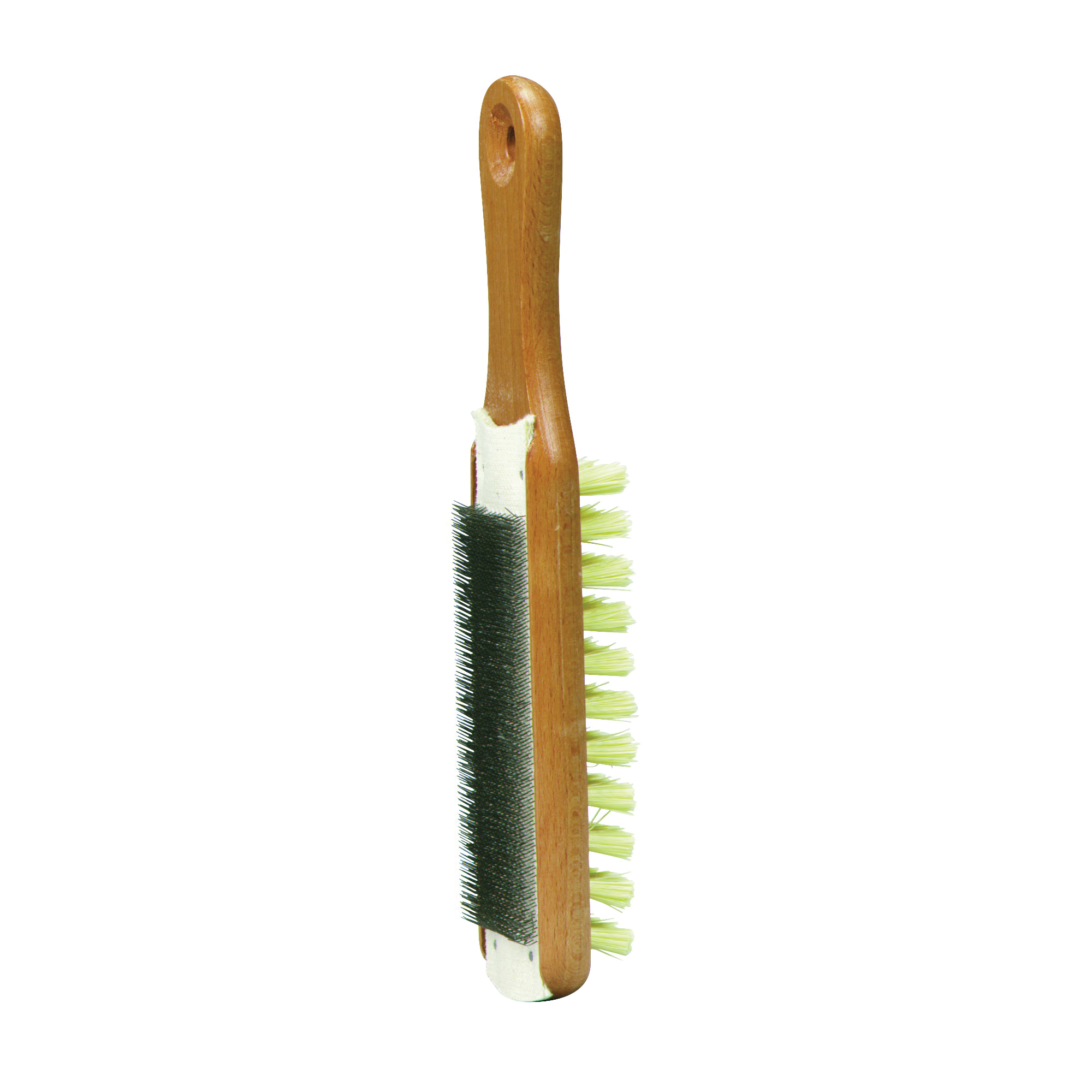 Picture of Crescent Nicholson 21467 File Card and Brush, 10 in L, Steel/Wood