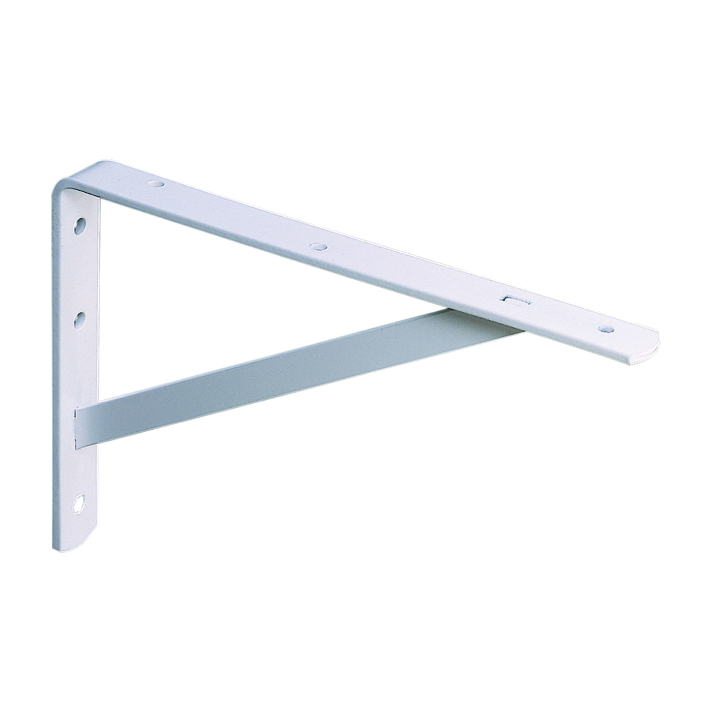 Picture of Knape & Vogt 208 WH 550 Shelf L-Bracket, 22 in L, Steel