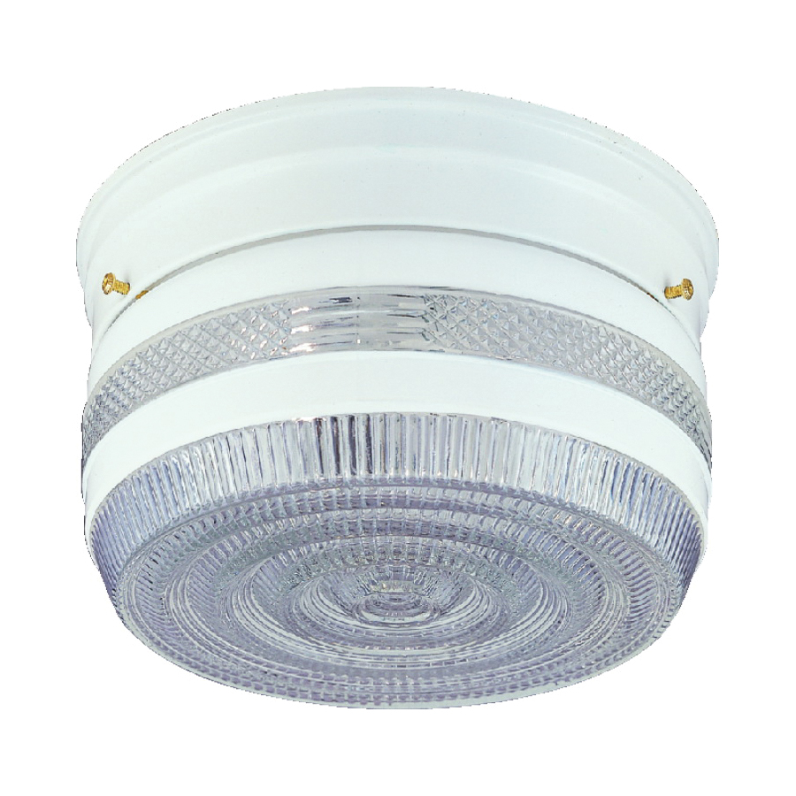 Picture of Boston Harbor F14WH02-8002CL3L Ceiling Light Fixture, 2-Lamp, CFL Lamp, White Fixture