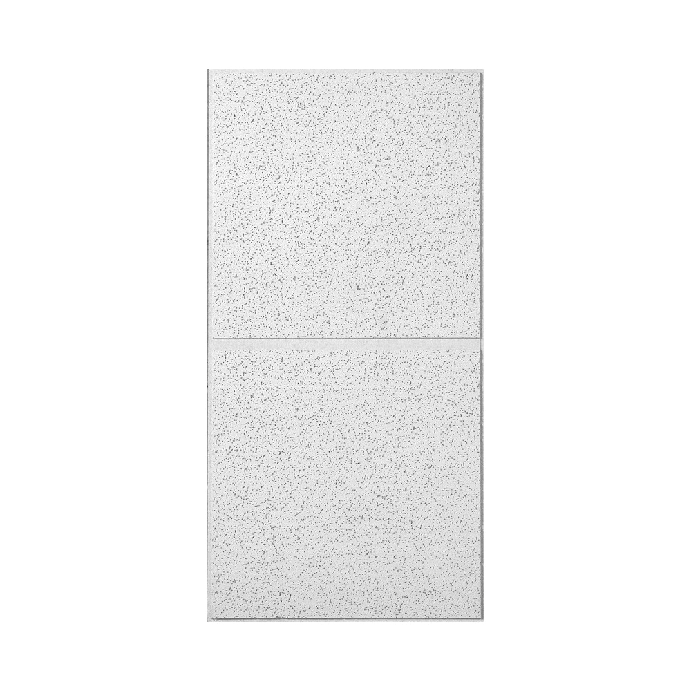 Picture of USG RADAR R2742 Ceiling Panel, 4 ft L, 2 ft W, 3/4 in Thick, Fiberboard, White/Beige/Gray