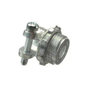 Picture of Halex 90422 Squeeze Connector, 3/4 in Trade, Zinc