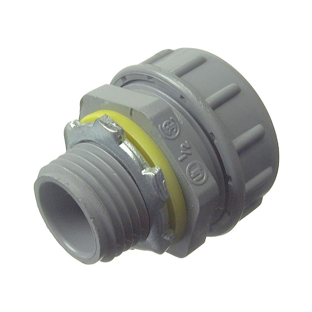 Picture of Halex 27621 Conduit Connector, PVC