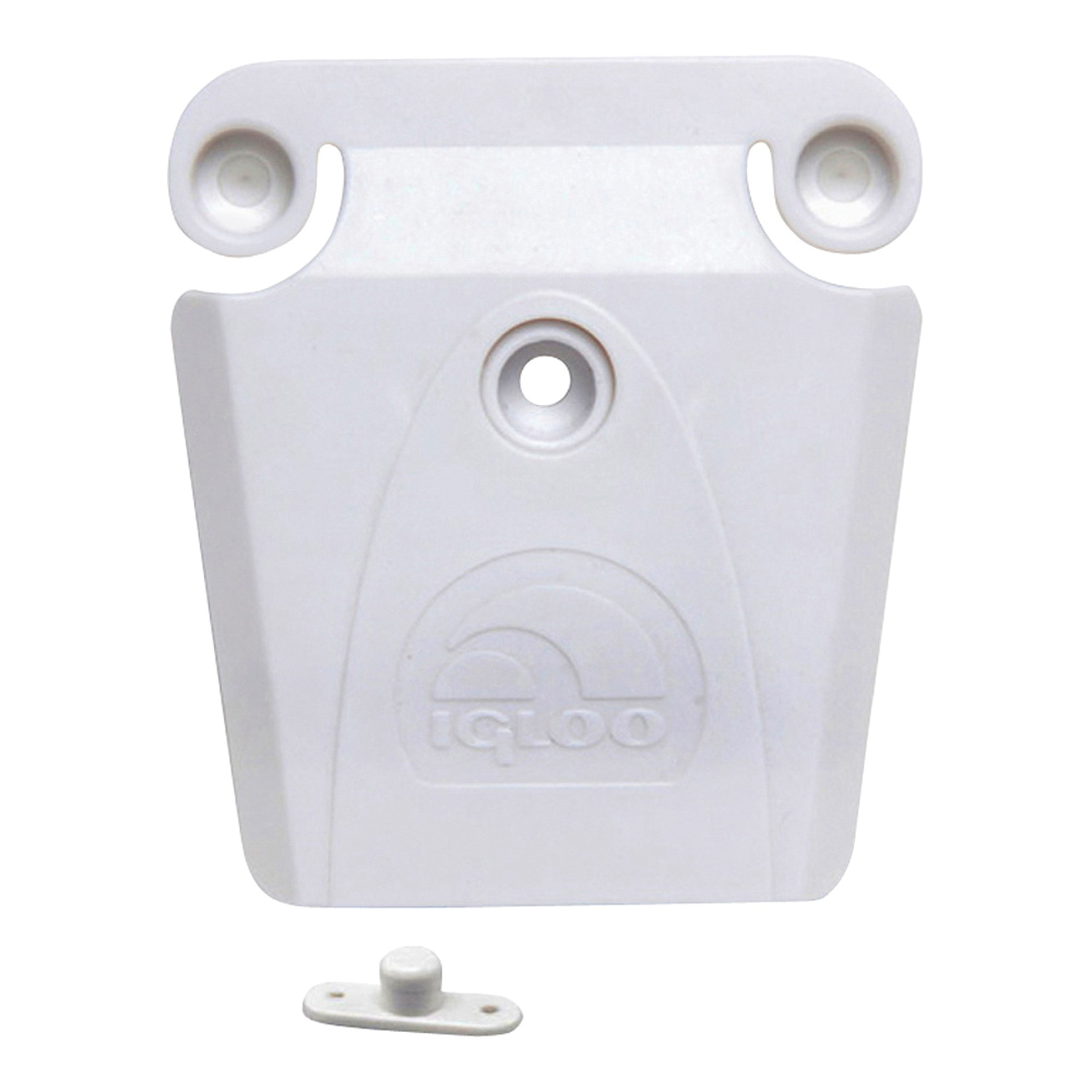 Picture of IGLOO 00024013 Ice Chest Latch Set, Plastic, White