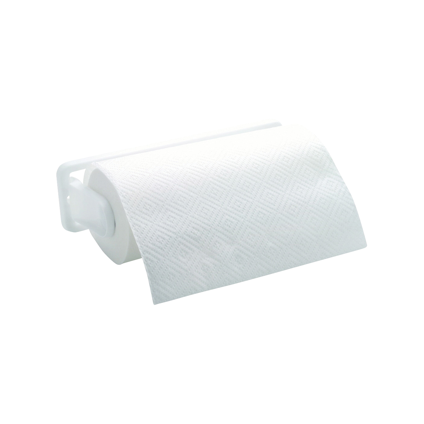 Picture of Rubbermaid 236187WHT Paper Towel Holder, 14.09 in OAW, Plastic, White
