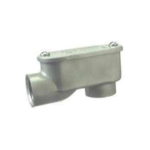 Picture of Halex 59505 Service Entrance Elbow, Threaded, Aluminum