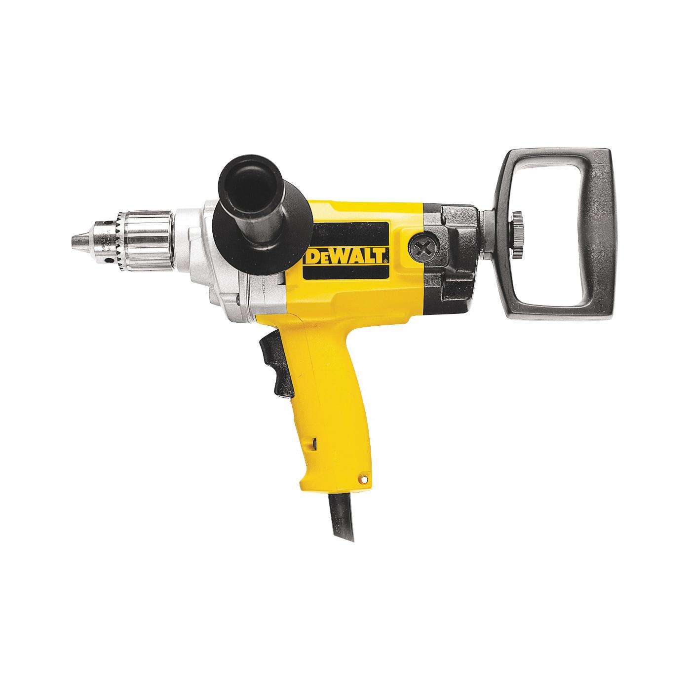 Picture of DeWALT DW130V Electric Drill, 120 V, 600 W, 1-1/2 in Auger Bit, 1/2 in Twist Bit, 3 in Hole Saw Bit Drilling