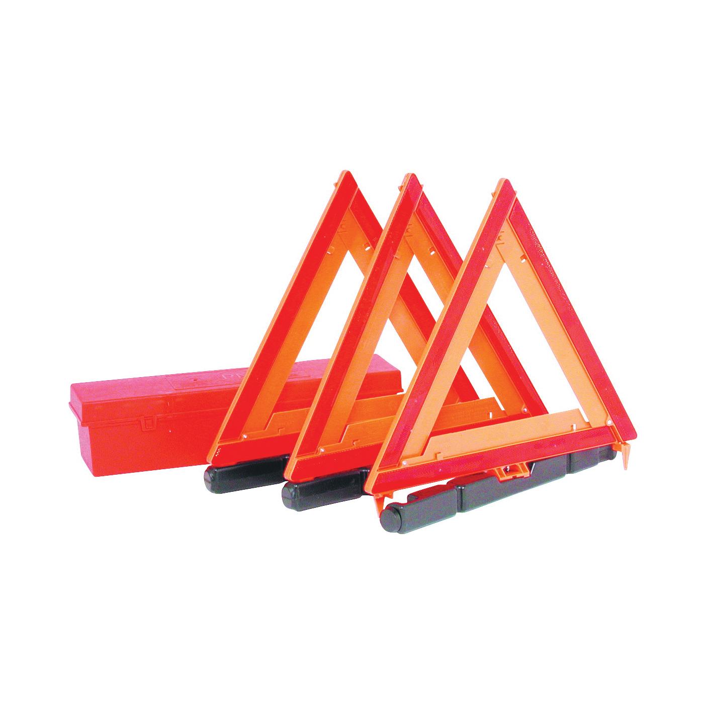 Picture of PM 449 Warning Triangle Kit, Fluorescent Orange Reflector