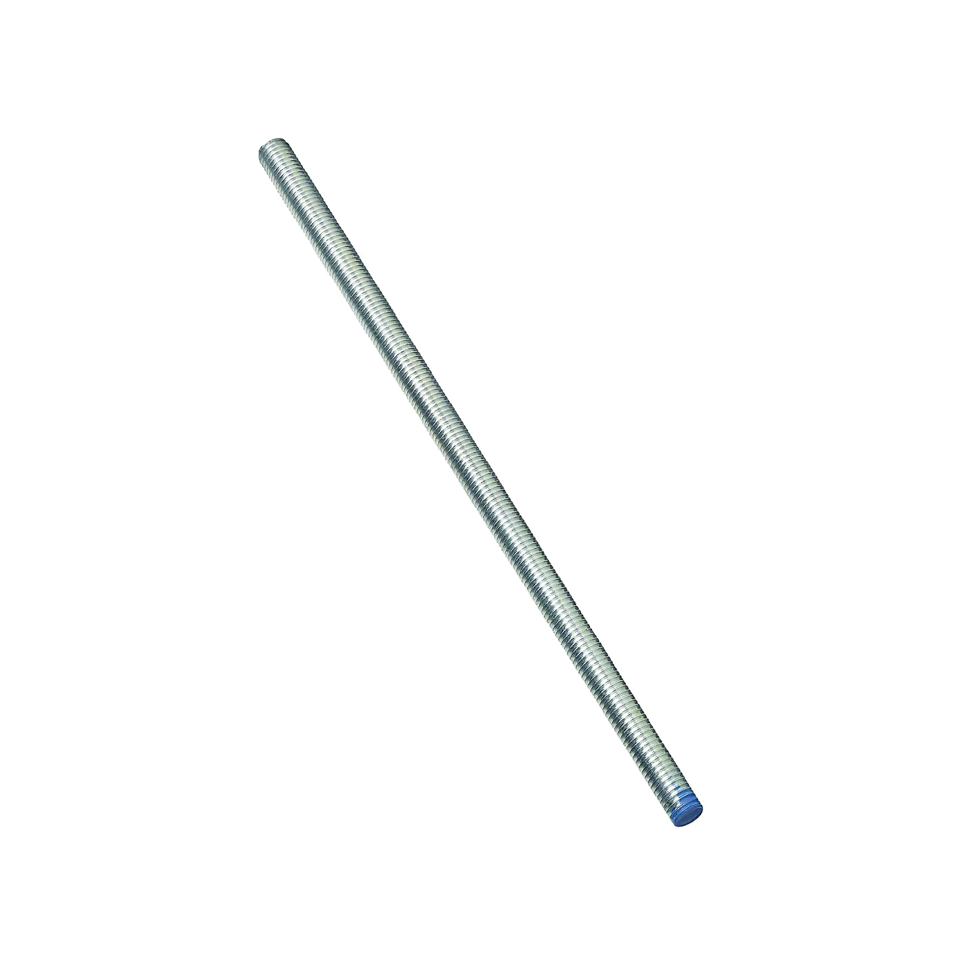 Picture of Stanley Hardware 179622 Threaded Rod, 1/2-13 Thread, 72 in L, A Grade, Steel, Zinc, UNC Thread